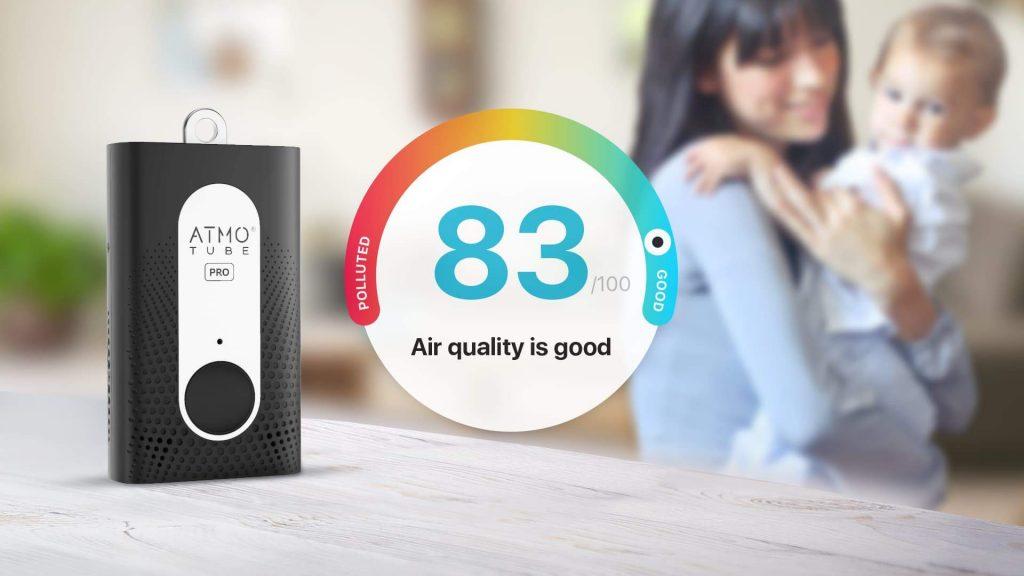 Melhore a qualidade do ar interior com Atmotube PRO.